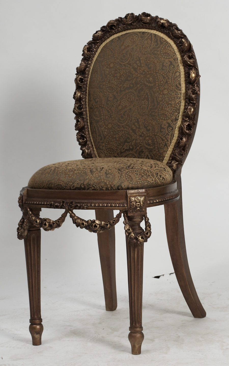 Antique french chair - Antique Gold